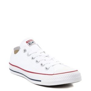 Womens white converse sneakers